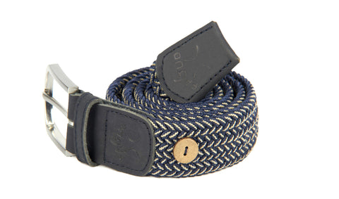 BELT - NAVY/CHALK