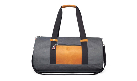 BIG DUFFLE - NAVY STRIPES