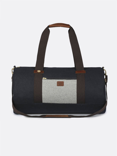 BIG DUFFLE - NAVY/LIGHT GREY