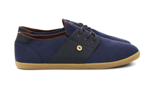 CYPRESS Cotton/Leather - NAVY*
