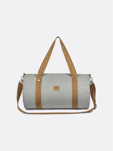 DUFFLE - LIGHT GREY