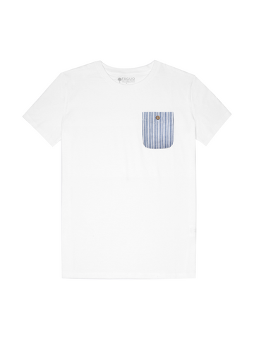 OLONNE - WHITE/NAVY STRIPE
