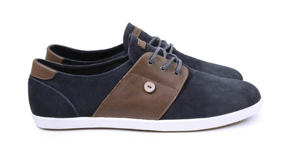 CYPRESS Suede/Leather -Navy/Moka