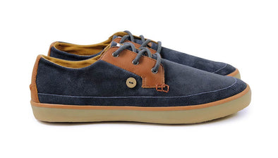 WATTLE LOW Suede - Navy