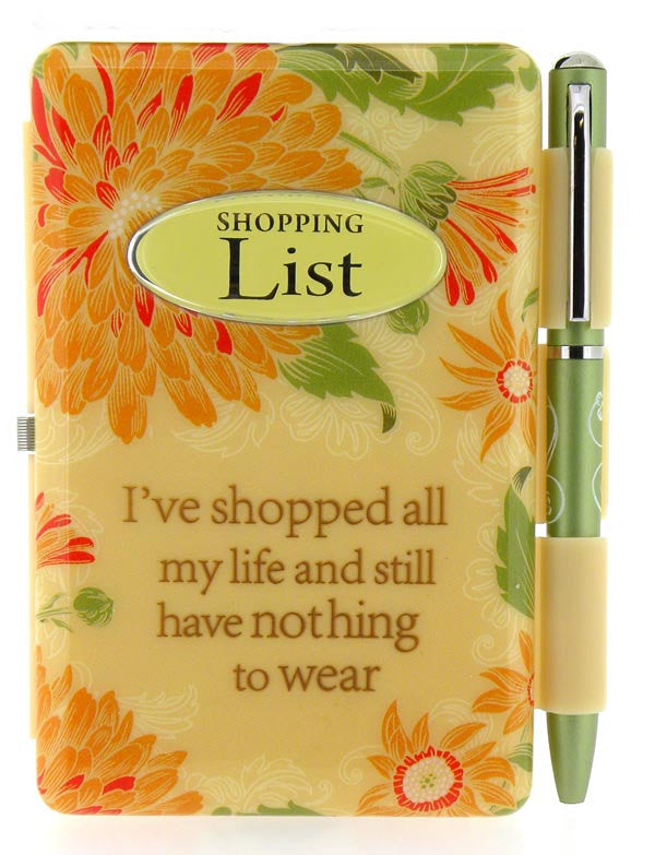 Flip Pad - Shopping List - Pi Style Boutique - History & Heraldry