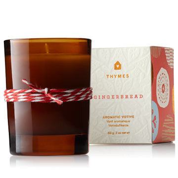 Thymes Gingerbread Votive Candle