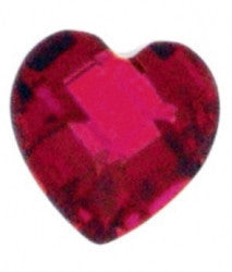 July Birthstone Heart - Pi Style Boutique - Center Court