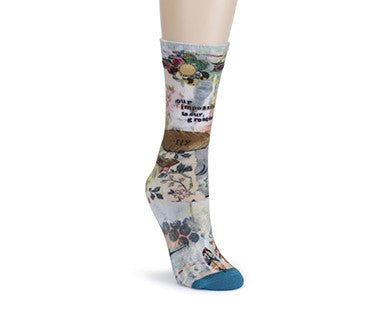 Fly (Kelly Rae Roberts) - Soul to Sole Mid Calf Socks