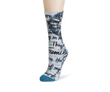 LS Mid Calf Sock - Family - Pi Style Boutique - Demdaco - Accessories - 2