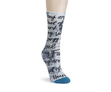LS Mid Calf Sock - Family - Pi Style Boutique - Demdaco - Accessories - 1