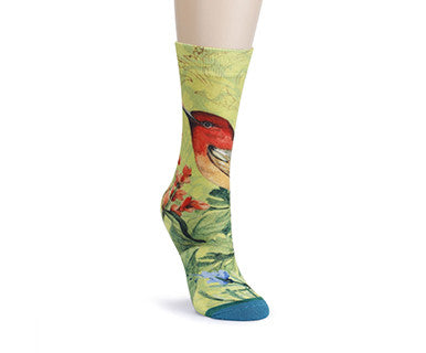 SW Mid Calf Sock - Birds - Pi Style Boutique - Demdaco - Accessories - 1