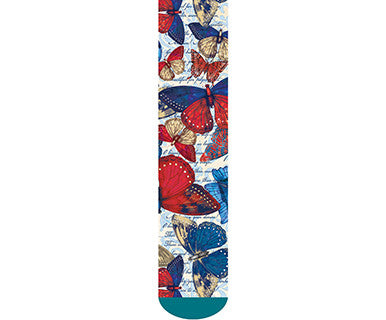 TC Mid Calf Sock - American Butterflies - Pi Style Boutique - Demdaco - Accessories - 3