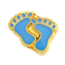 Blue Feet Charm - Pi Style Boutique - Center Court
