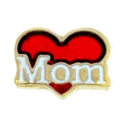 Heart Mom Charm - Pi Style Boutique - Center Court