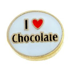 I Love Chocolate Charm - Pi Style Boutique - Center Court