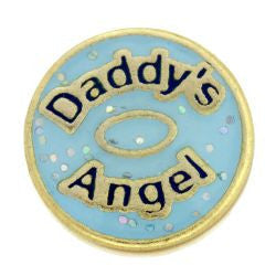 Daddy's Angel Charm - Pi Style Boutique - Center Court