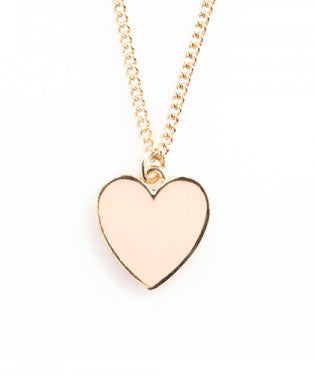 Supercute Heart - Ban.do Necklace - Pi Style Boutique - Lifeguard Press - Accessories