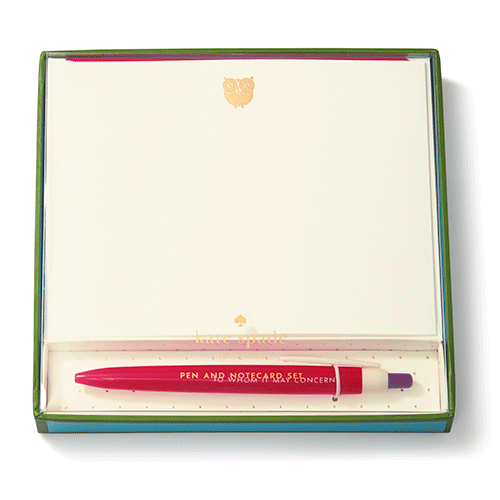 To Whom it May Concern Pen & Notecard Set - Pi Style Boutique - Lifeguard Press