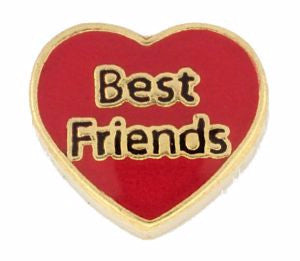 Heart Best Friends Charm - Pi Style Boutique - Center Court