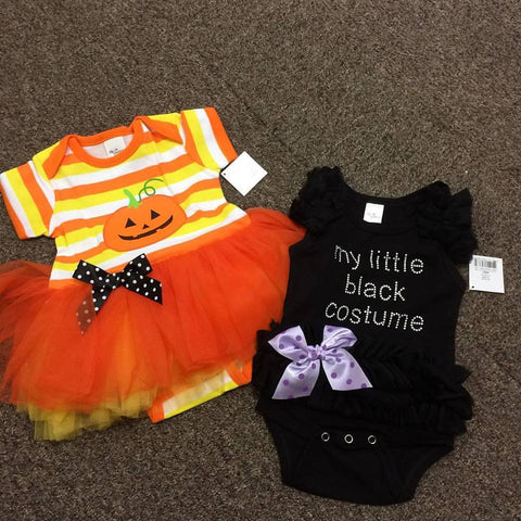 Pumpkin Cutie - Baby Tutu Dress
