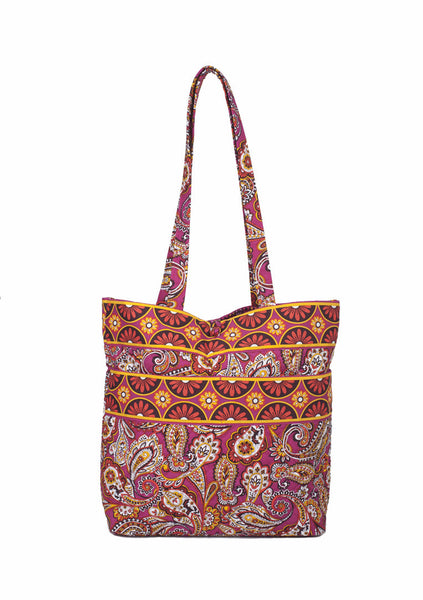 Tote - Sunset Paisley - Pi Style Boutique - Stephanie Dawn