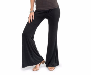 Classic Black - Palazzo Pants - Pi Style Boutique - Howard's