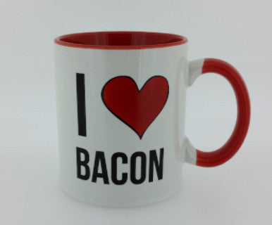 I Love Bacon Mug - Pi Style Boutique - Dennis East