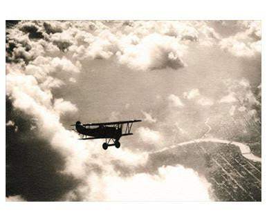 Airplane in Clouds Avanti America Collection