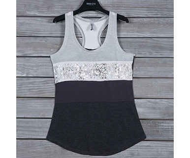 Blinged Block - Tank Top