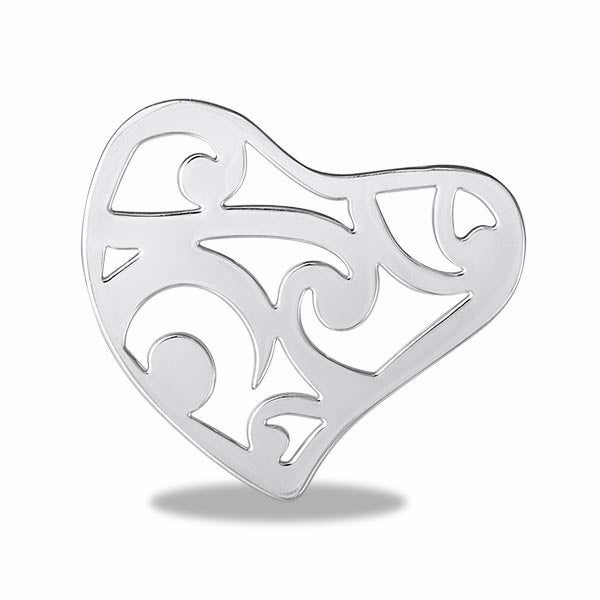 Paisley Heart Disk - Pi Style Boutique - Center Court