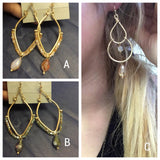 Charming Crystals - Earrings