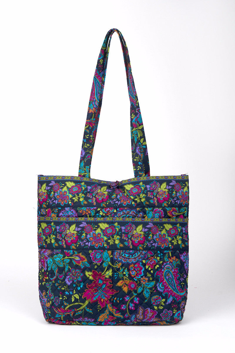 10065-002 - Shopper Tote - French Quarter - Stephanie Dawn - Made in Ohio! (2014) - Pi Style Boutique - Stephanie Dawn