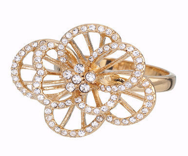 Crystal Bloom - Annaleece Ring - Pi Style Boutique - Annaleece - Accessories