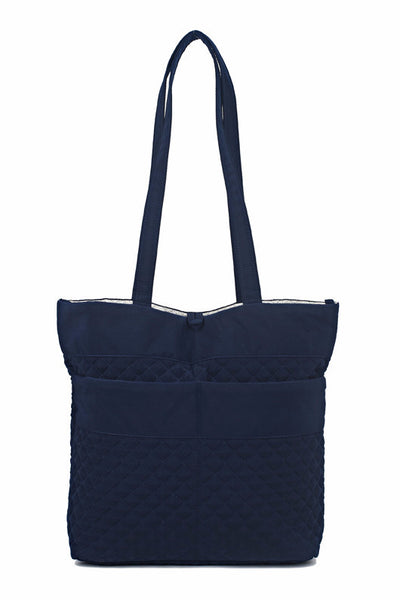 Tote (Navy) - Stephanie Dawn Handbag - Pi Style Boutique - Stephanie Dawn - Accessories