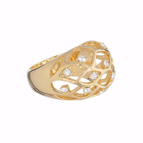 Golden Leaf - Annaleece Ring - Pi Style Boutique - Annaleece - Accessories