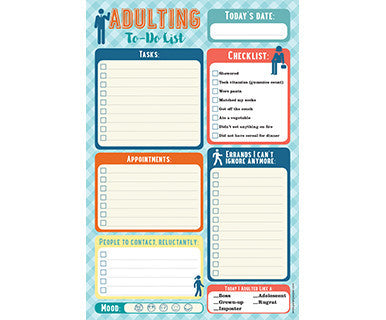 Adulting - Peter Pauper Dress Note Pad
