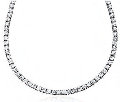 24.0 carat Tennis Necklace 16
