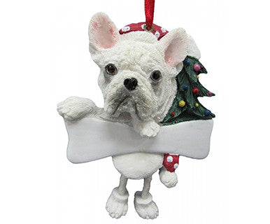 French Bulldog Dog Dangling ornament 5x3.5x1 - Pi Style Boutique - E&S Pets - Gift & Decor