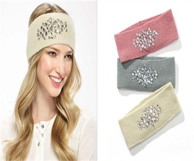 Bejeweled - Headband/Earwarmer - Pi Style Boutique - Giftcraft - Accessories