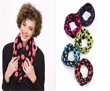 Spot On - Infinity Scarf - Pi Style Boutique - Giftcraft - Accessories