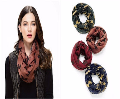 Running Free - Infinity Scarf - Pi Style Boutique - Giftcraft - Accessories