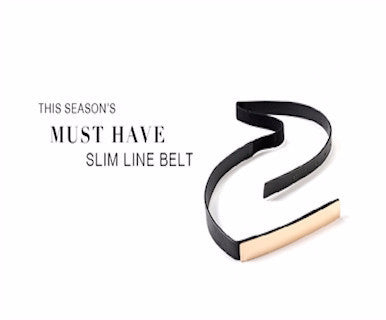 Metal Line - Stretch Belt