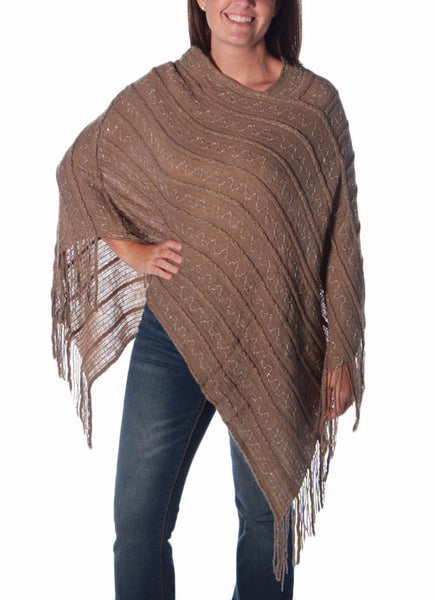 Just a touch - Poncho - Pi Style Boutique - Giftcraft - Clothing