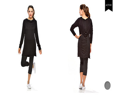 Athleisure - Hooded Tunic