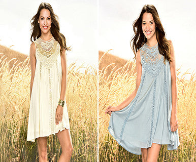 Angel Lace - Tunic Dress