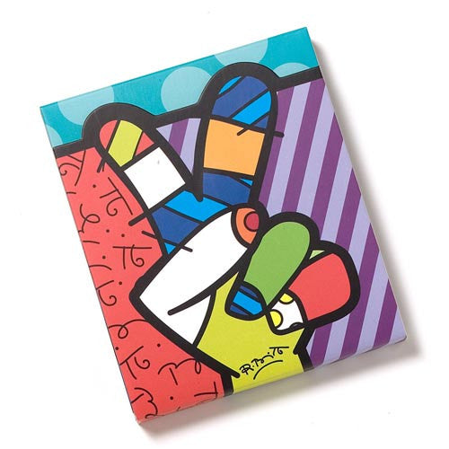 Disney by Britto Peace Love Mickey Notepad - Pi Style Boutique - Enesco