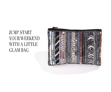 A Little Glam - Clutch Bag