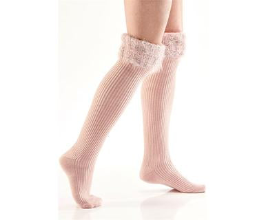 Pretty Feather - Charlie Paige Boot Socks