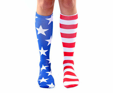 Stars and Stripes - Knee High Socks