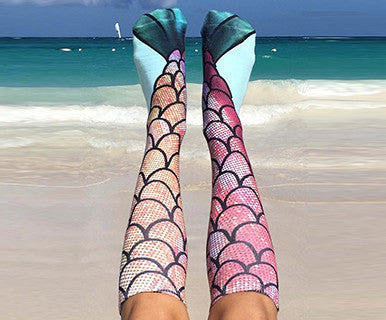 Mermaid - Living Royal Knee High Socks